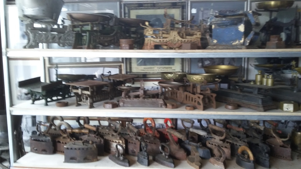 γερακάρι καφενείο συλλογή όπλα καφές