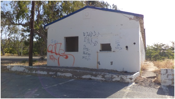 βάση κτίρια ρήμαξε περιουσία εγκατάλειψη