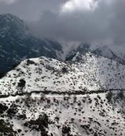 ομαλός χιόνια κρήτη χειμώνας