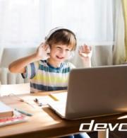 τηλεκπαίδευση devolo infokids έρευνα κοινό μαθητές εξοπλισμός σχολείο μαθήματα