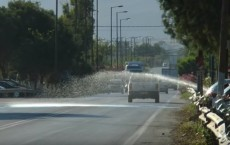 εθνική οδός αψίδα νερό αυτοκίνητα βοακ