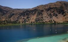 λίμνη κουρνά διαδρομές κρήτη τοπίο φυσική ζωή