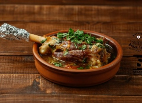 σεφ chef Στράτος Ιωσηφέλλης συνταγή κότσι Byraki Ρακόμελο