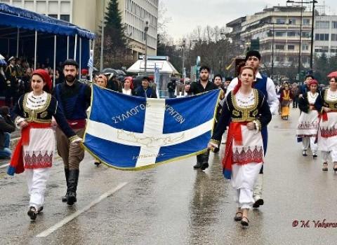 κρήτες φοιτητές ιωαννίνων παρέλαση