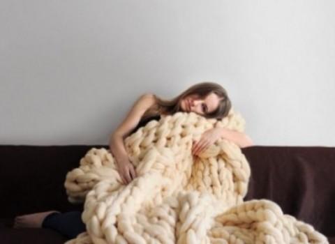 πλέξιμο κουβέρτα 45 λεπτά βίντεο οδηγίες