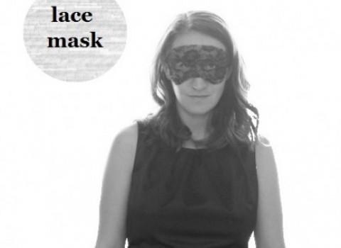 μάσκα δαντέλα diy χειροποίητη απόκριες
