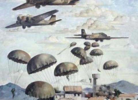 μάχη Κρήτης αγγλική κατασκοπεία Ιστορικό Μουσείο Κωστής  Μαμαλάκης μαρτυρίες πολέμου