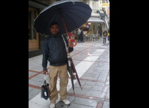 πακιστανός ομπρέλες βροχή