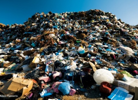 χωματερές σκουπίδια αστικά απόβλητα ανακύκλωση