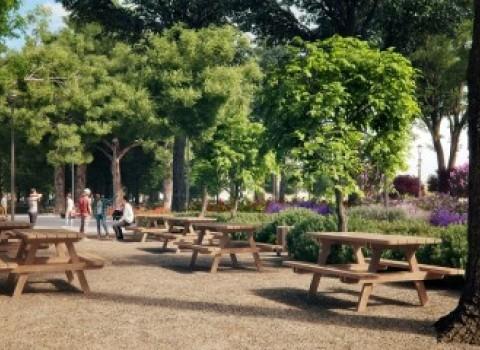 πάρκο γεωργιάδη ανάπλαση