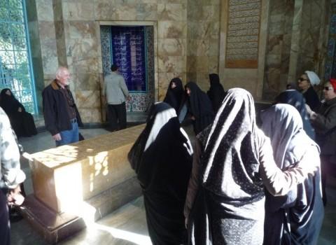 ιράν μαυσωλείο σααντί σχορετσανίτης