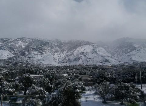 φουρφουράς χιόνι περιοχή ψηλορείτης καιρός διαμαντάκης