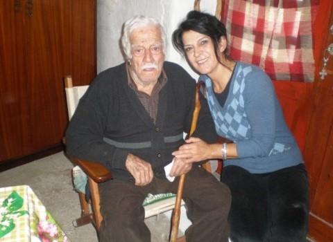 δαμανάκης καρωτή 105 ετών