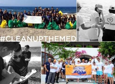 maris cleanup the med παραλίες καθαρισμός σαντορίνη κρήτη