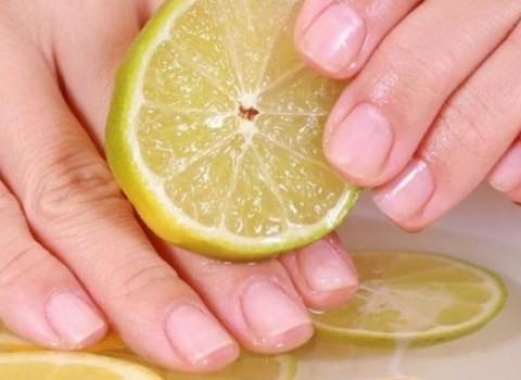 λεμόνι χρήση χέρια σπίτι