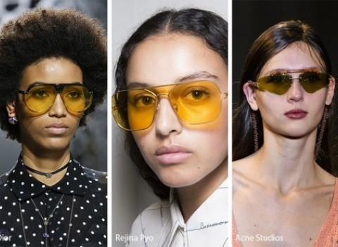 κίτρινα γυαλιά 90's fashionistas μόδα