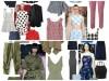 trends μόδα ρούχα χακί καρό ριγέ φλοράλ